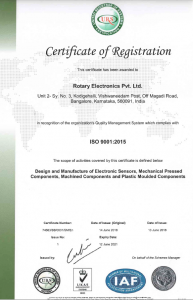 Certificate ISO-1